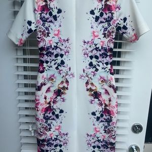 Antonio Melani midi floral dress!